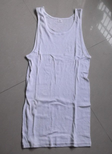 200,000pcs men's 2*2 rib tank tops(Lowest EXW price at usd$0.75/pc only TAKE ALL)