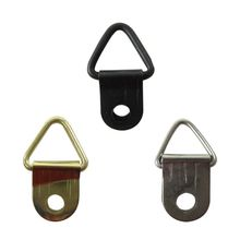 100pcs Big size Photo Hook triangle D-Ring Hanging Picture oil Painting Mirror Frame Hooks Hangers