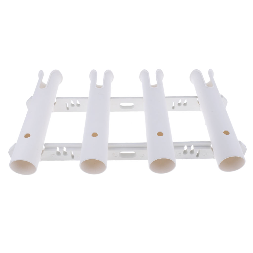 Marine Boat Yacht Vertical Fishing Rod Holder Rack Pole Rest Support 1/2/4 Tube for Kayaking Fishing Boating Accessories