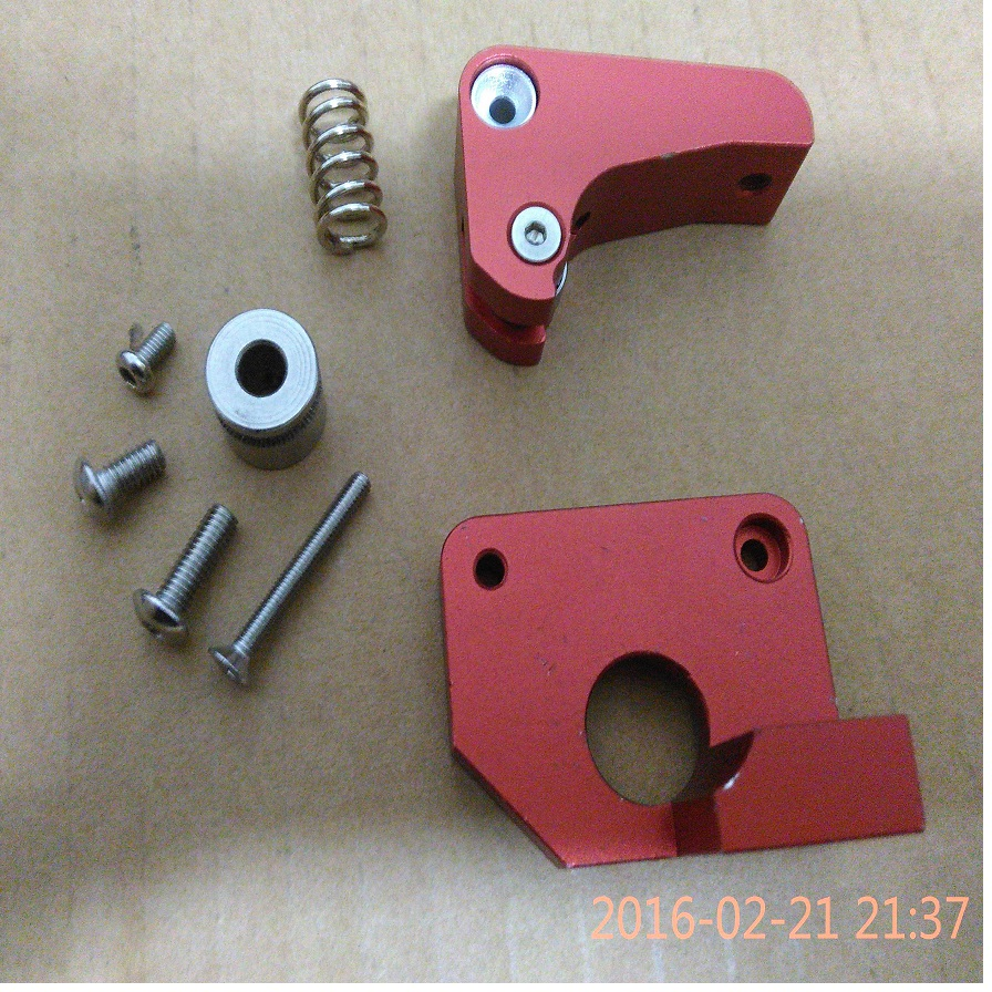wholesale 3D printer Makerbot Replicator 2x right side extruder upgrade edition full metal aluminum extruder right