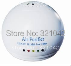 free shipping,Portable car air purifier spray the ozone Lonic auto air cleaner instead air freshener(China (Mainland))