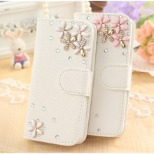 DIY Cute Luxury Bling Crystal Diamond Leather Case Cover For Original UMI Rome 4G FDD-LTE Phone 5.5 inch