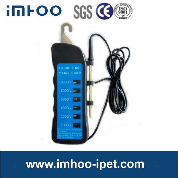 Ten lamp LED insulation electric 6 Lights Neon Voltage fence tester 1000V-10000V(China (Mainland))