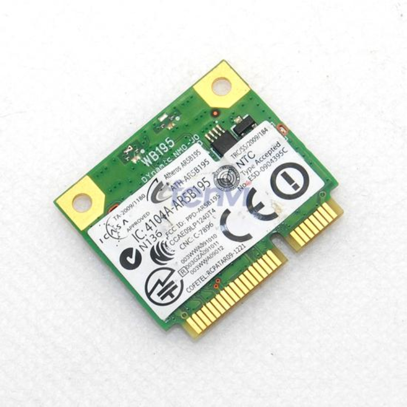 DW1702 atheros AR5B195 Wireless-N WIFI Bluetooth BT 3.0 mini pci-e Card for DELL Laptop Network Wlan Adapter(China (Mainland))
