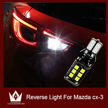 Guang Dian 2pcs Car Bake up lamp Reverse Lights Rear lamp T15 W16W 2835 15smd 921 912 For mazda cx3 cx-3 car accessories(China (Mainland))