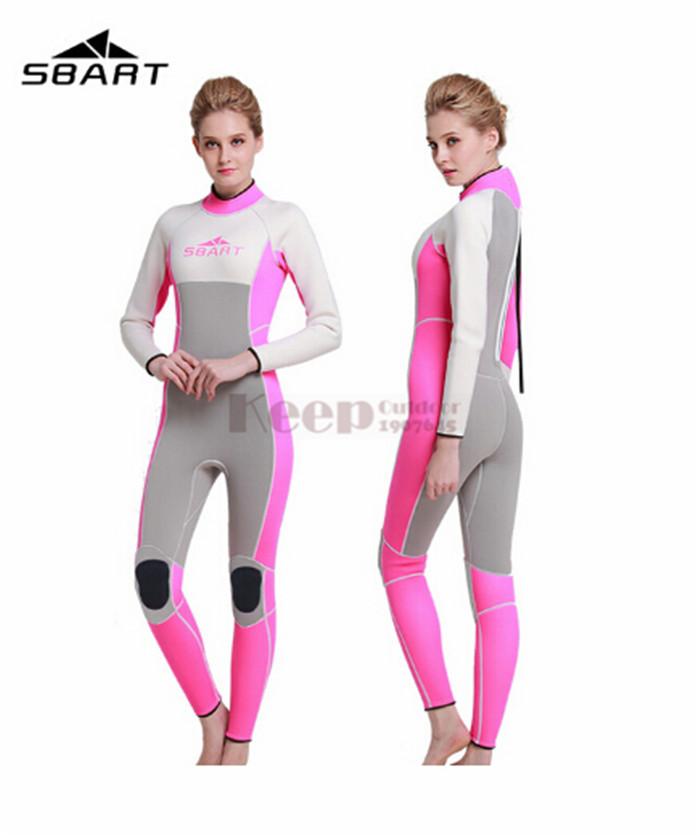 sbart 3mm neoprene men women 39 s surfing wetsuits swimming. Black Bedroom Furniture Sets. Home Design Ideas