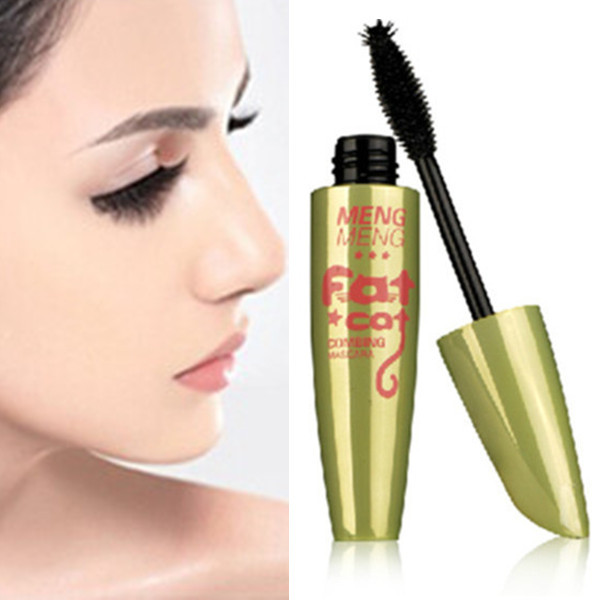 Big promotion lengthening thick curling fast/quick dry waterproof mascara eye makeup(China (Mainland))