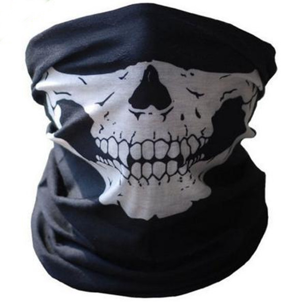 Drop Shipping Ghost Skull Full Face Mask Cosplay Balaclava Paintball Outdoor CS Hood WarGame Airsoft Hunting Army Tactical Masks