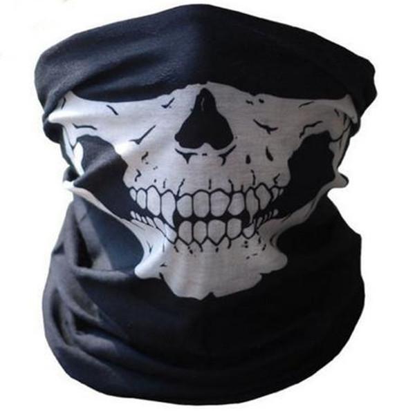 Drop Shipping Ghost Skull Full Face Mask Cosplay Balaclava Paintball Outdoor CS Hood WarGame Airsoft Hunting Army Tactical Masks(China (Mainland))