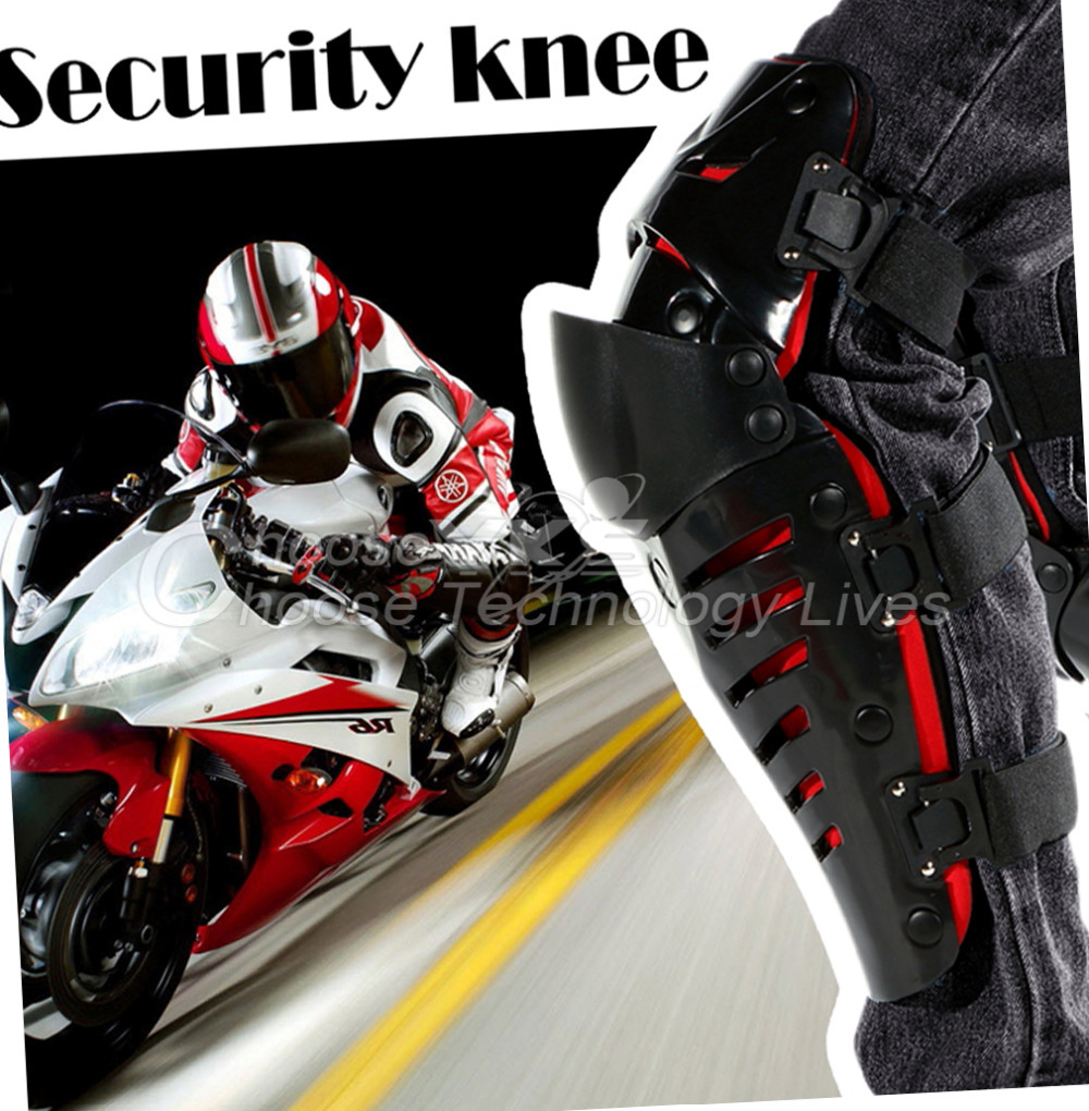 Hot Motorcycle Racing Motocross Knee Pads Protector Guards Protective Gear Free / Drop Shipping(China (Mainland))