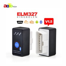 V1.5 Super Bluetooth ELM327 OBD2 / OBDII Car code Scanner ELM 327 Version 1.5 with Power Switch works on Android Symbian Windows