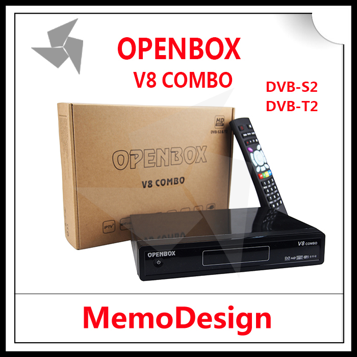 Openbox V8 combo Satellite TV Receiver HD with DVB-S2+DVB-T2 Twin Tuner Receiver Support CCcamd NEWcamd Youtube Youporn IPTV VOD(China (Mainland))