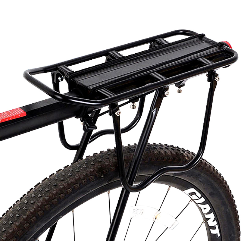 75kg quick release high strength aluminum alloy bike cargo racks bicycle luggage rear rack carrier footstock cycling accessories(China (Mainland))