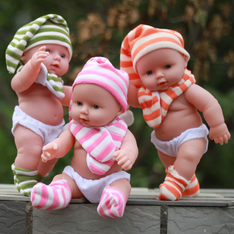 Soft dolls Talking baby toy silicone reborn dolls Into the water for bathing baby Children's educational toys Children's gift(China (Mainland))