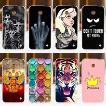 FOR Nokia Lumia 630 635 N630 N635 Case Cover Hard Plastic Fashion Painted Phone Protective Back Case Cover FOR Nokia 630 635