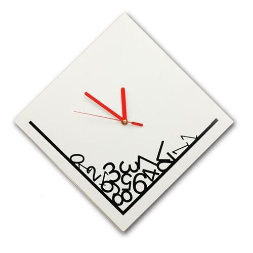qt001  Retail and Wholesale 1pcs Creative Time Dropping Digital Wall Clock/wall clock movement mechanism/wall digital clock