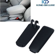 For Audi PU Leather Console Box Arm Rest Armrest Lid Cover For Audi A4 B7 2004-2008 Car Styling KING DELUXE(China (Mainland))