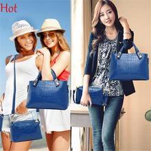 3PCS/set Bags Hot Fashion Women Leather Handbag Satchel Shoulder Bag Embossing Composite Bags Elegant Clutch Party Bag SV019586