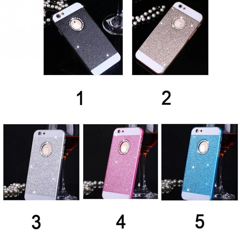 Water / Dirt / Scratch Proof Rhinestone Shining/ Bling Bling phone case for iPhone 6 4.7 for iPhone 6 plus 5.5(China (Mainland))