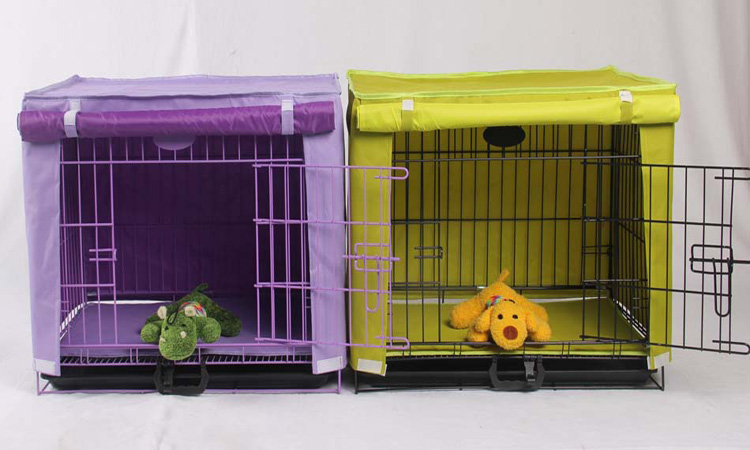 Waterproof Pet Crate Cover Dog Kennel Cage Cover 6Color S M L XL(China (Mainland))