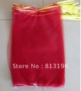 Free ship Drawstring leno mesh bag / fruit mesh bag / plastic net bag 50x80 packing 25kg 004(China (Mainland))