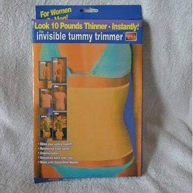100% qualified Invisible Tummy Trimmer as seen on TV body shaping Free shipping(China (Mainland))