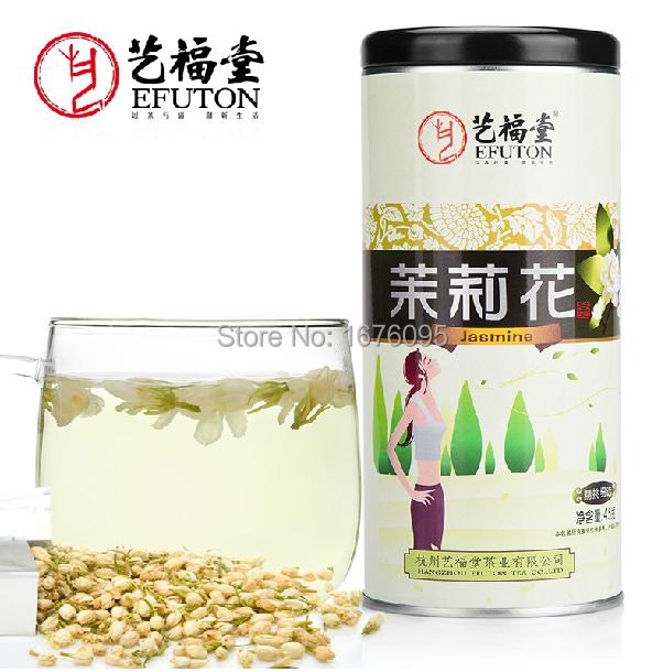 Flower tea Jasmine Tea,45g/ tank,Health beverage ,Chinese farmers direct,Pure natural drink,Enhance immunity(China (Mainland))