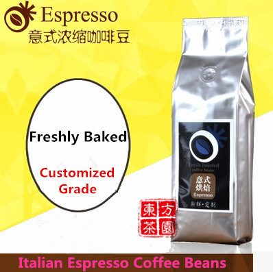 AA Level Green Coffee Slimming Italian Espresso Italy Coffee Beans Fresh Roasted Mellow Coffee Slimming 454G