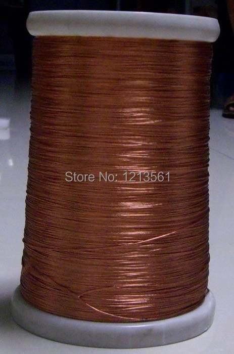 0.1x10 strands, 50m/pc, Litz wire, stranded enamelled copper wire / braided multi-strand wire(China (Mainland))