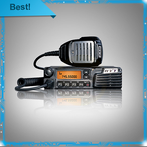 Original Hyt tm-600 car radio station commercial Frequency range 136~174MHz talk range 10~30km free shipping(China (Mainland))