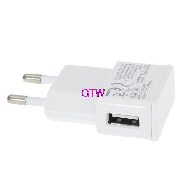White 5V Travel EU Plug Wall USB Charger Adapter For Samsung galaxy S5 S4 S6 note 3 2 For iphone 6s 6 5 4 All phones T05