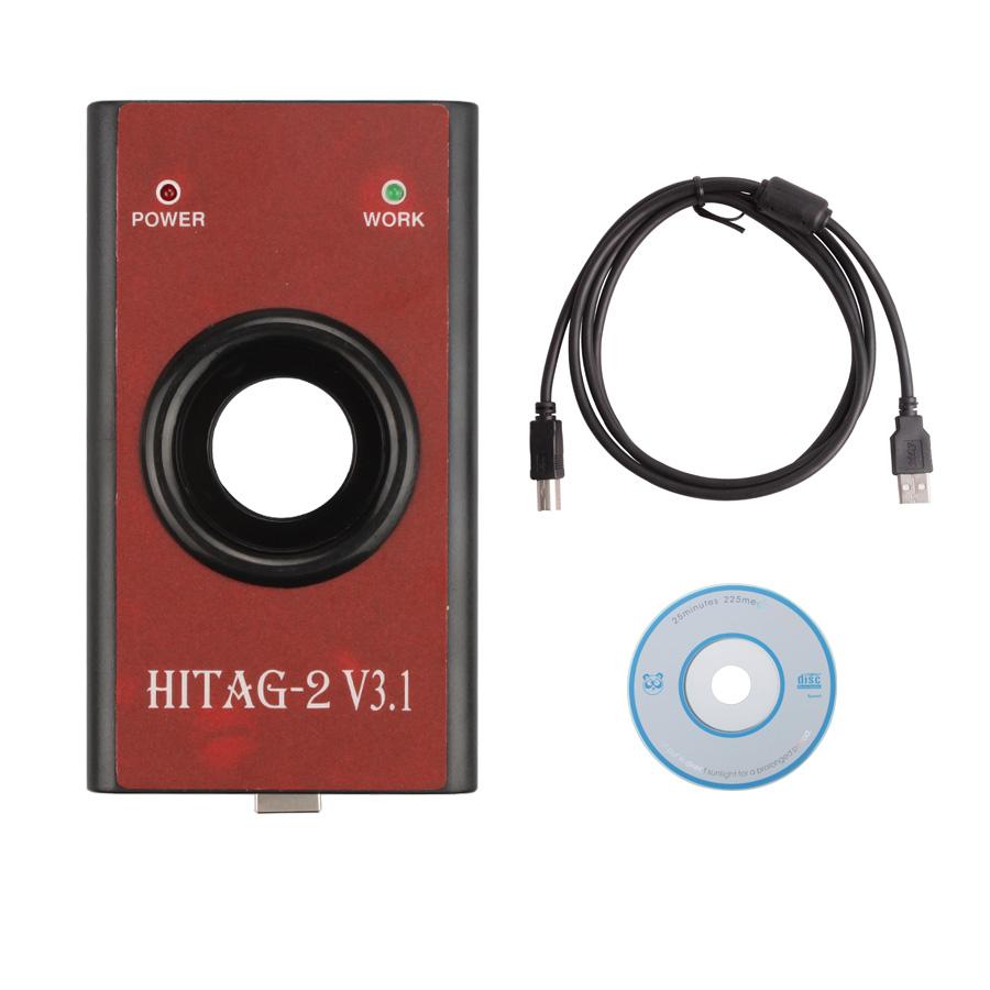 HiTag2 V3.1 Programmer (Red) Universal Key Programmer Transponders key Programmer(China (Mainland))