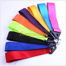 ISPEED- tow strap Universal High Quality Racing car tow strap/tow ropes/Hook(red blue purple orange black yellow pink)(China (Mainland))