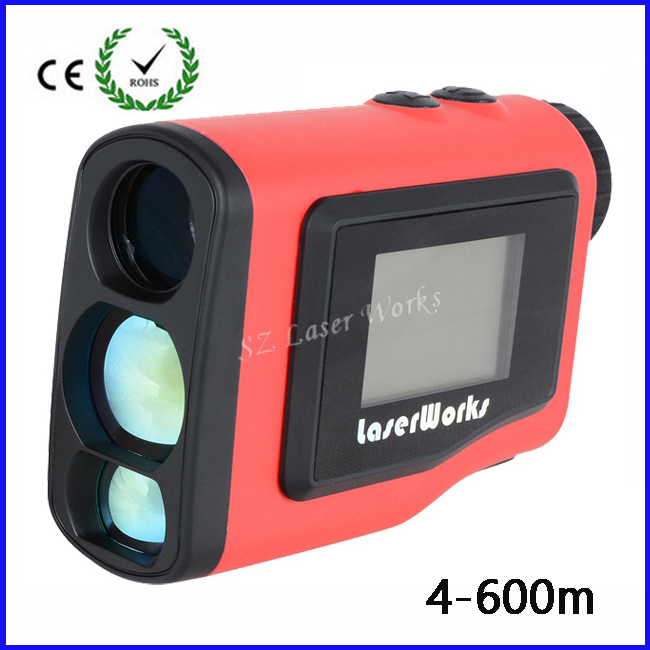 2015 New Monocular Angle of Elevation 600M Laser Golf Rangefinder Laser Height Angle Finder with angle and Slope Function<br><br>Aliexpress