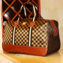 Hot Sale Large Capacity 2015 Waterproof Fashion Women Travel Bag Shoulder Handbag Luggage 11 Styles(China (Mainland))