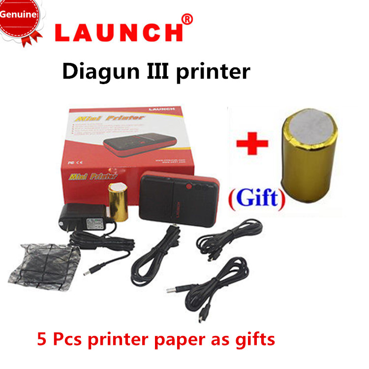 (Free gift) DHL Free 100% Original Launch X431 Diagun Mini Printer Diagun III mini printer with high quality(China (Mainland))