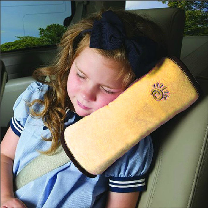 Free Shipping One Pair Baby Auto Pillow Car Safety Belt Shoulder Pad Vehicle Seat Belt Cover