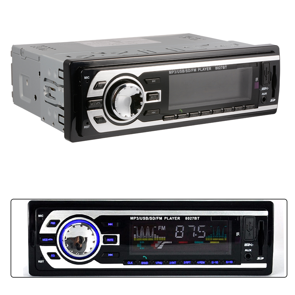 1 Din In Dash Car 12V Radio SD/USB/AUX FM Stereo MP3 Head Unit Remote Control Hands Free MA486(China (Mainland))
