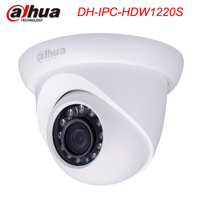 Фотография Dahua  IPC-HDW1220S 2MP Full HD Small IR Eyeball Camera with POE IP67 Original English Version without Logo