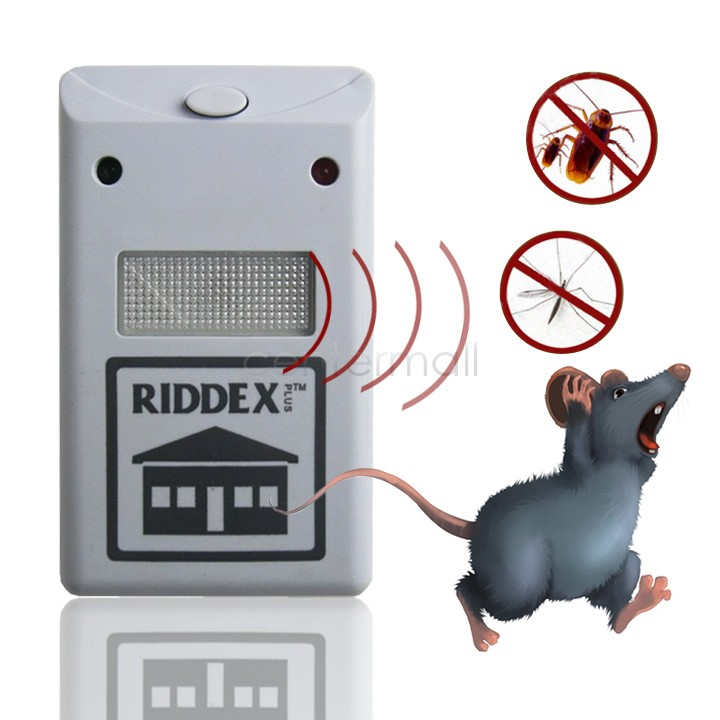 Dropshipping Electronic Ultrasonic Rat Mouse Repellent Anti Mosquito Repeller Rodent Pest Bug Reject Mole Repeller EU/US Plug(China (Mainland))