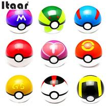 10cm Pokemon Pokeball Anime Action Figures PokeBall Toys Cosplay Collections Gifts Pokemons Cute Super Master Pokeballs