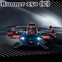 Original Walkera Runner 250 (C) RC Drone With Camera 800TVL / DEVO 7 Remote Control High Speed Quadcopter with OSD Free Shipping