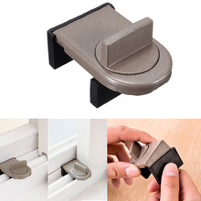 Adjustable Safety Security Sliding Window Door Lock Restrictor Limite Catch 1pc(China (Mainland))