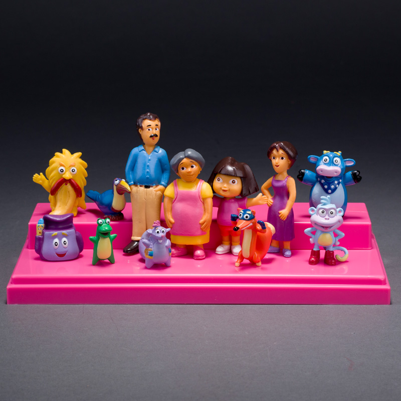 All Dora Toys : Pcs set my toy collection little cute cartoon characters