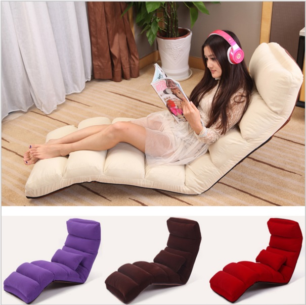 Foldable leisure Living room furniture Warm Multifunctional Lazy Folding Chair Adjustable Creative Foldable Beanbag hotel office(China (Mainland))