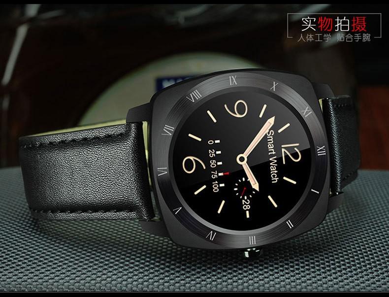 Мода смарт часы носимых устройств bluetooth браслет smartwatch
