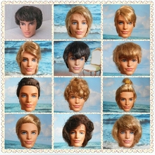 Hot SALE 100% Original Handsome KEN DTY Heads Multi-Styles Doll Heads For Barbie Boyfriend Male Ken Doll Free Shipping Wholesale(China (Mainland))