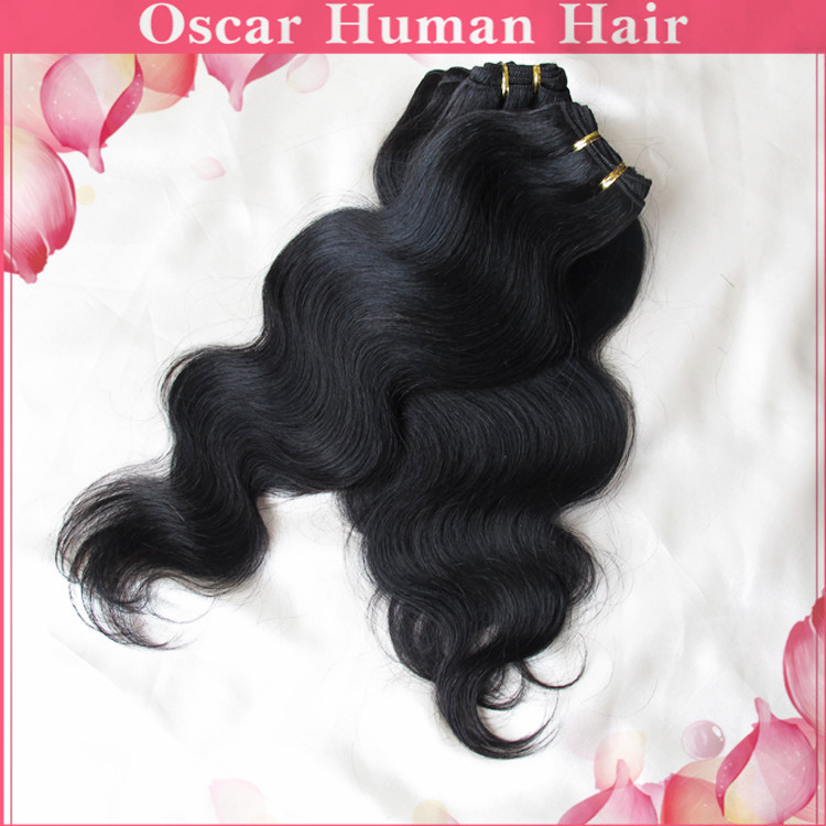 Ali Online Sale 6 Bundles Malaysian Body Wave Remy Human Hair Beauty Hair Extension 50g/pc Super Deal Soft Texture Free Shipping(China (Mainland))