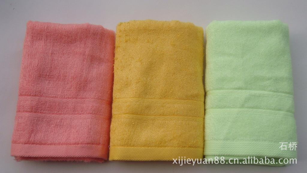 100% Bamboo Fiber Towels Export Europe and America 33 * 70 Soft super Absorbent Face Towel 3 pcs set Quality Free shipping(China (Mainland))