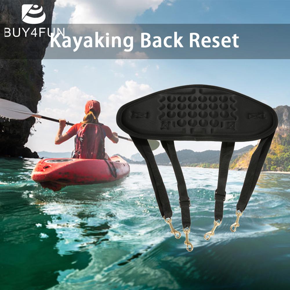 1pc Kayaking Canoeing Seat Back Rest Seat Back Pad Band Kayak Back Rest Seat Support Canoe Fishing Boat Black(China (Mainland))